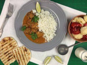 Kip kokos curry